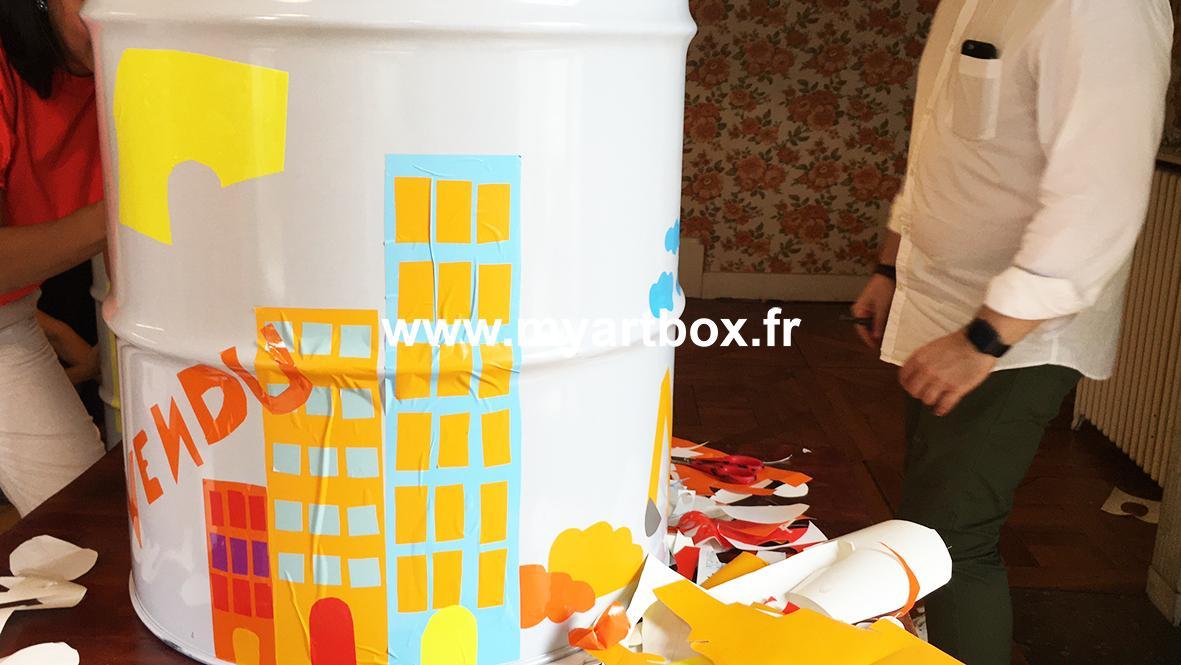 Atelier fresque paris