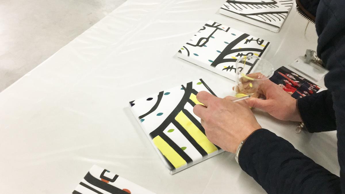 Atelier peinture lauzanne