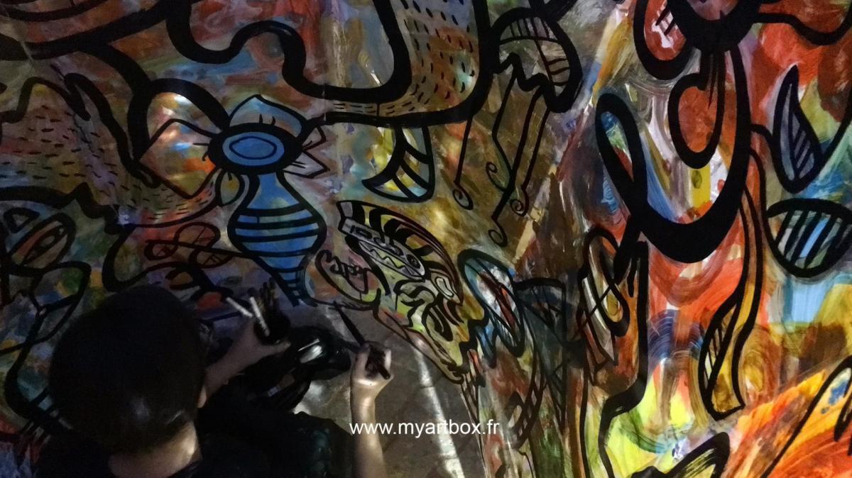 Street artiste paris 1