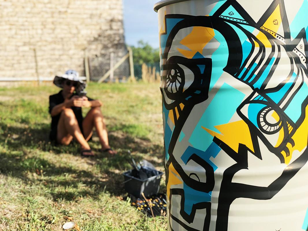 Ana artiste street art 1