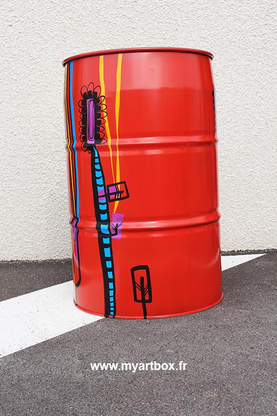 Anaystof fresque lyon