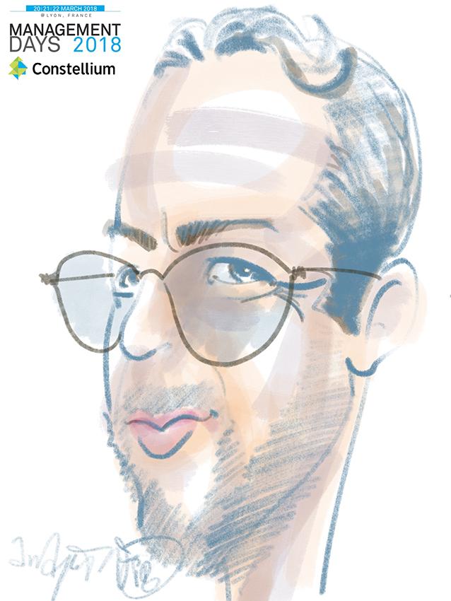 Animation caricature digitale lyon