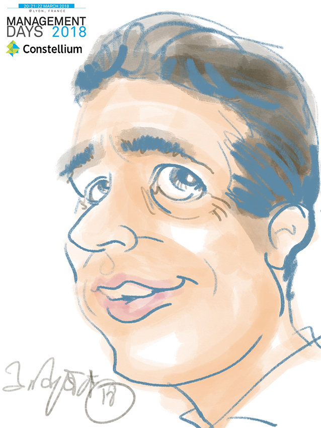 Animation caricature ipad lyon