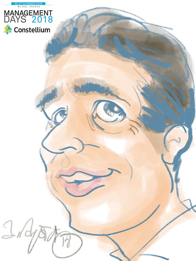 Animation caricature ipad lyon