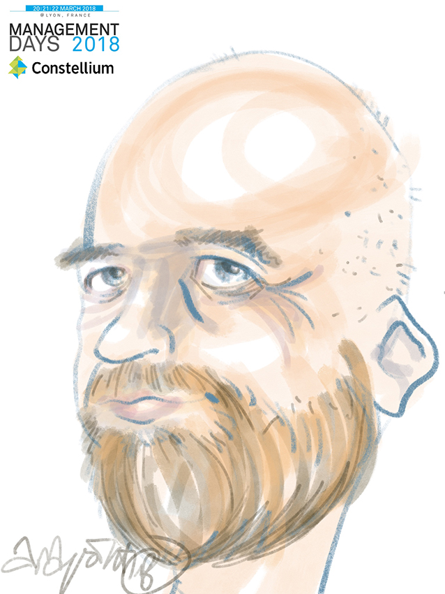 Animation caricature lyon