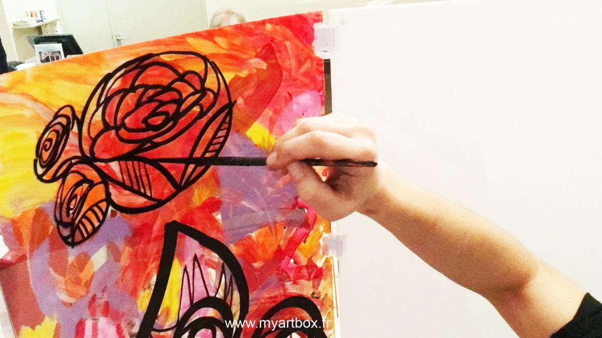 Animation peinture 5