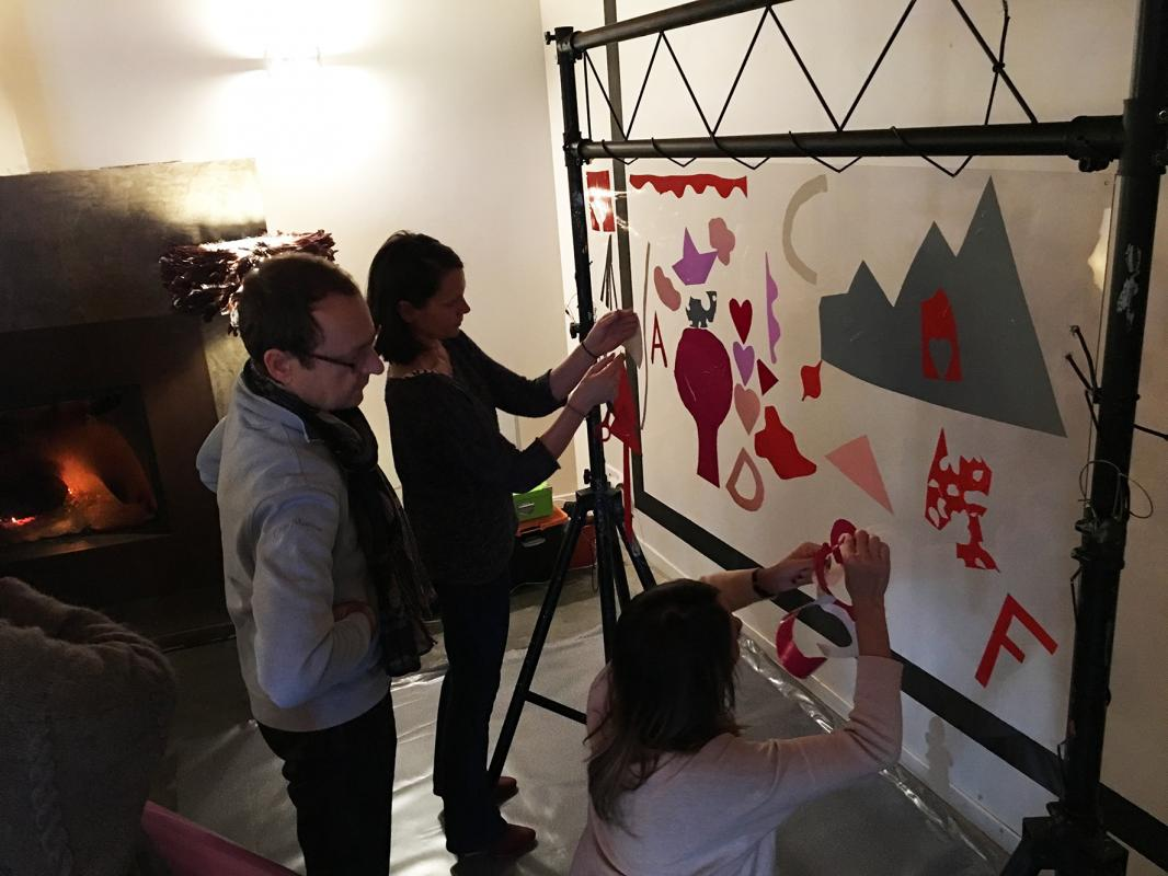 Animation peinture Geneve