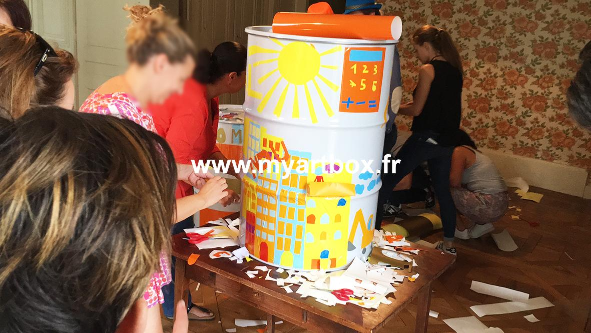 Atelier fresque lyon