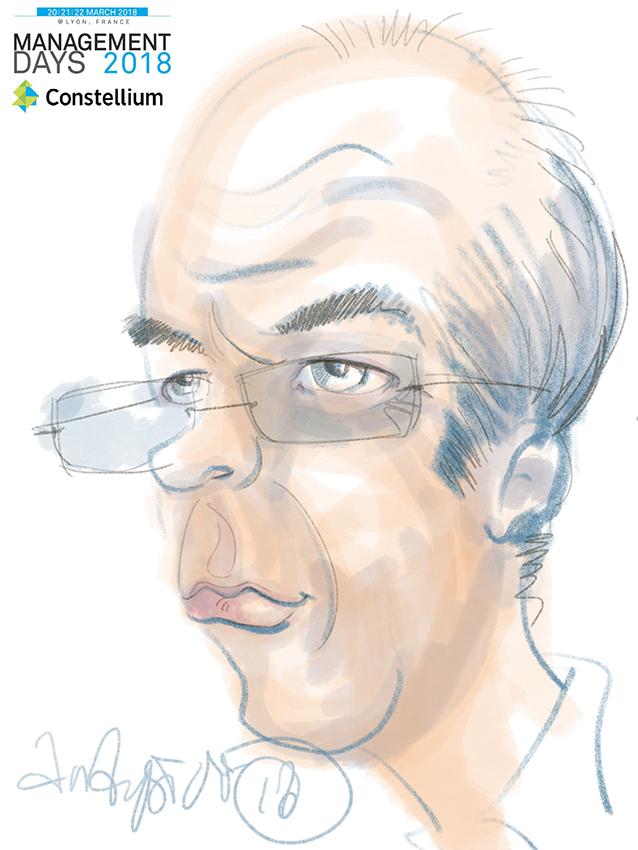 Caricature digitale lyon