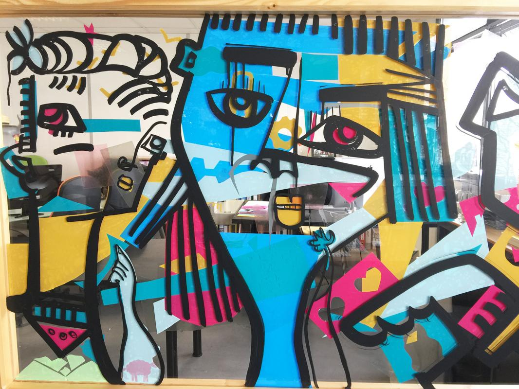 Fresque entreprise lyon