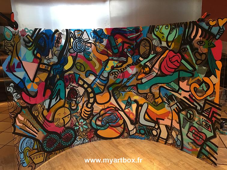 Fresque lyon 2
