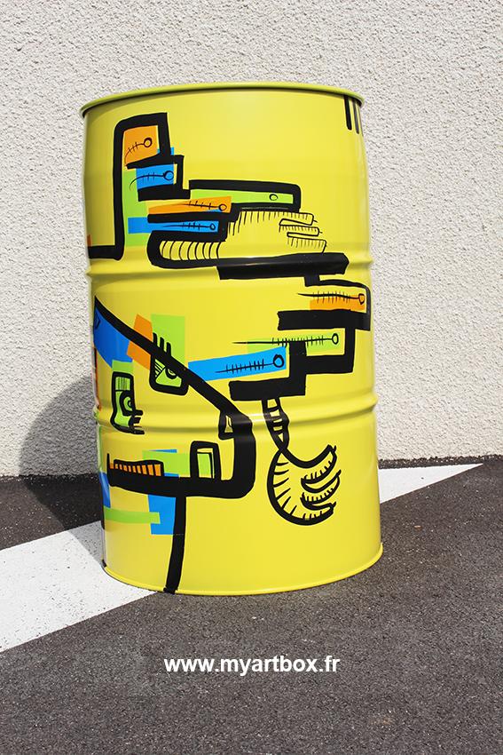 Graffeur grenoble