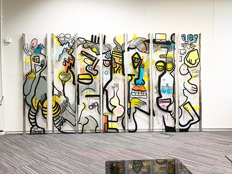 Graffiti paca