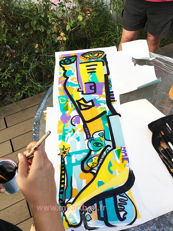 événementiel peinture Lyon