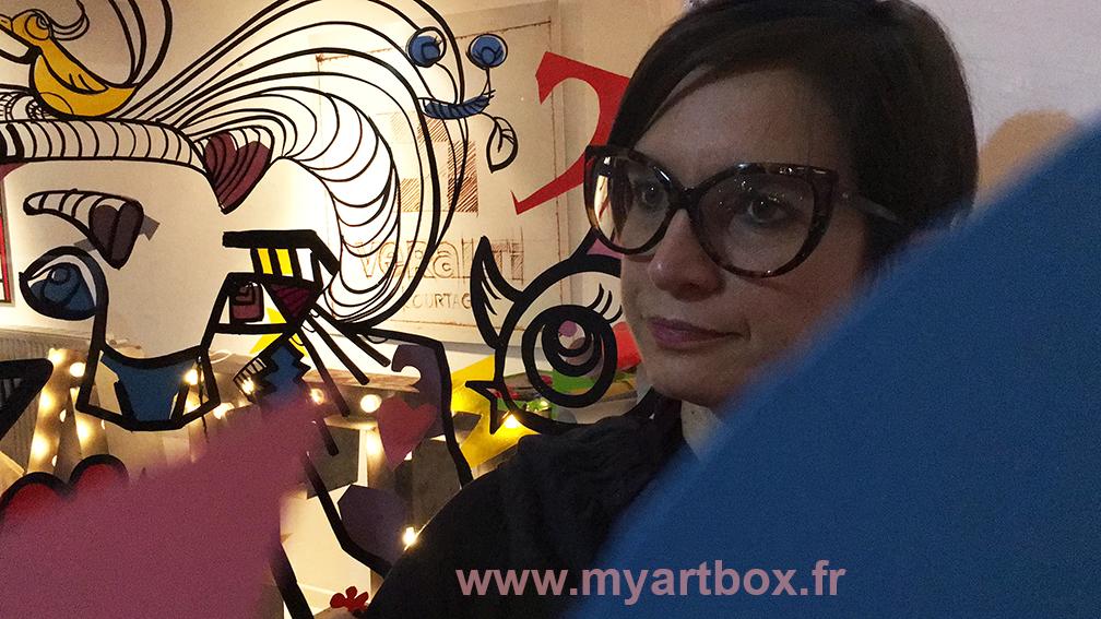 Lyon animation peinture
