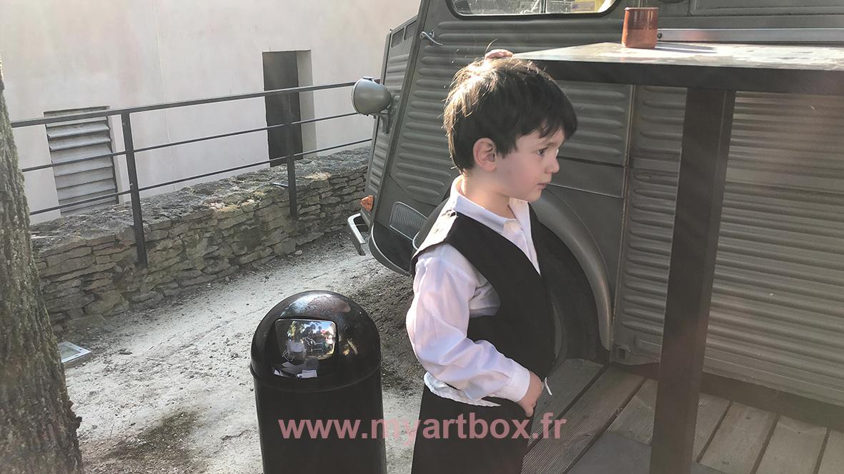 Portraits aux ciseaux dijon