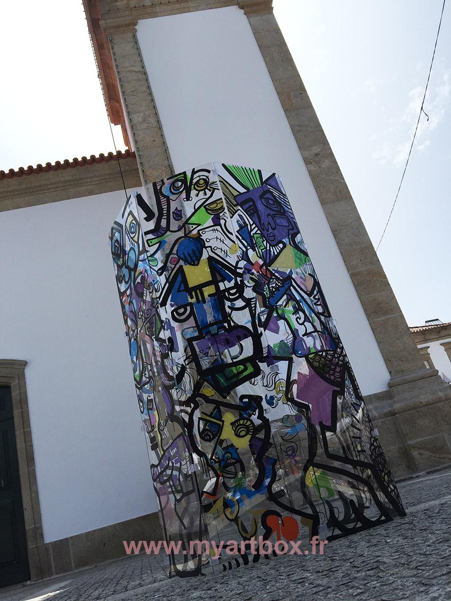 Street art improvisation