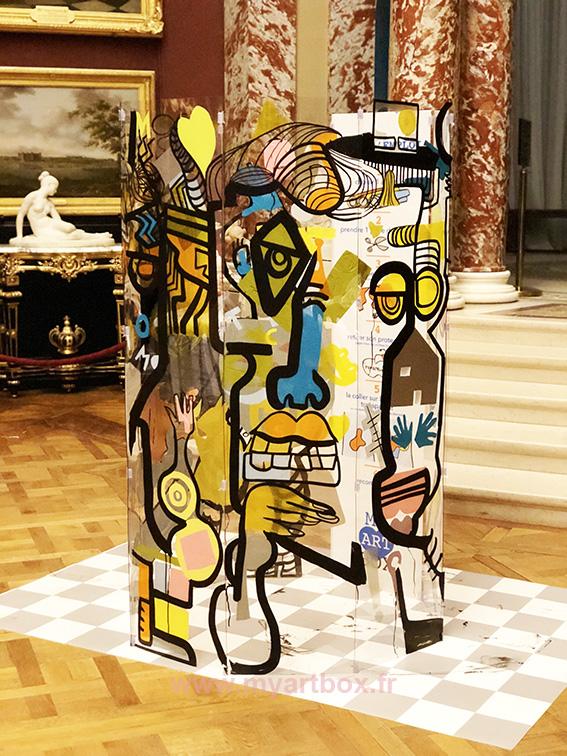 Street artiste saint etienne