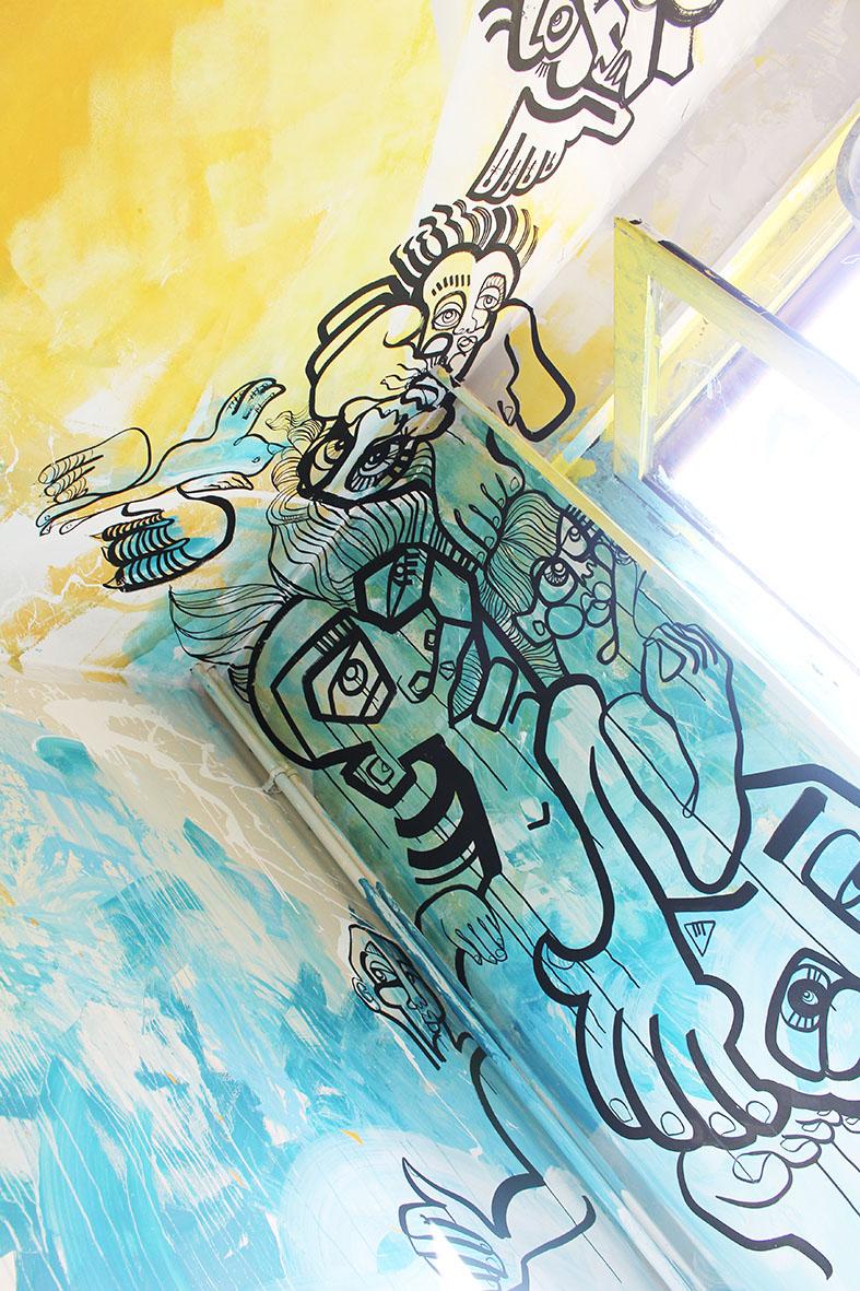 Streetartcity chambre 50 graffiti