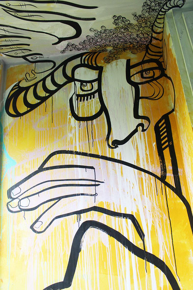 Streetartcity room 50 graffiti