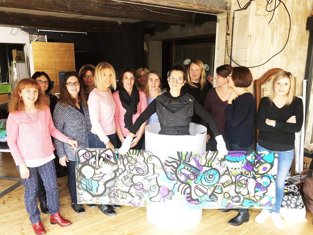 Team building creative bourgogne