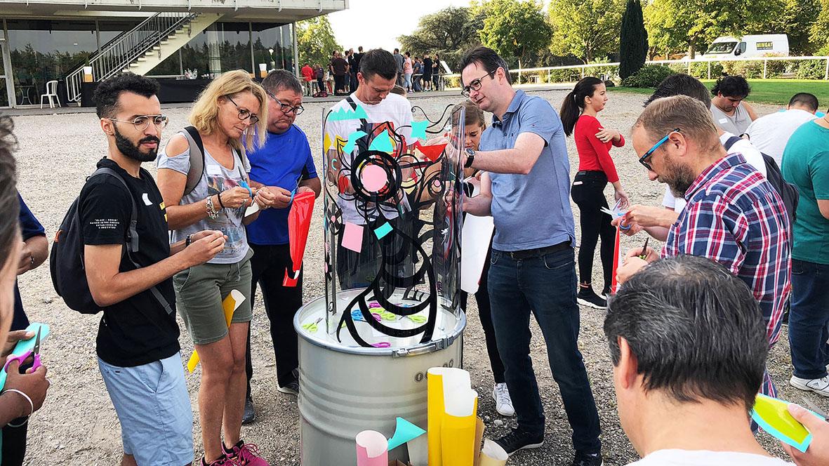 Team building fresque 7