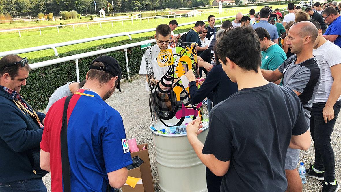 Teambuilding fresque collective lyon