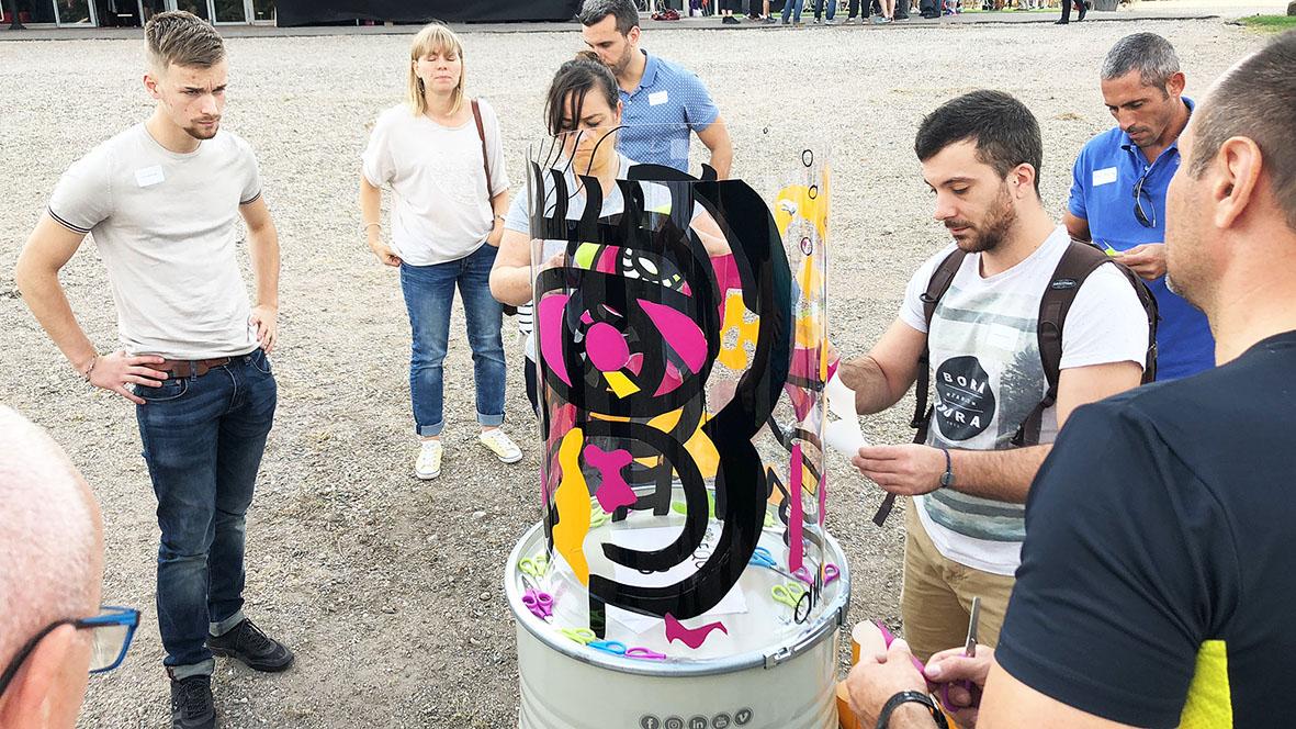 Teambuilding street art